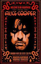 Alice Cooper 1975 Tour Poster