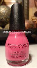 SINFUL COLORS Pro. Nail Polish #1170 SUGAR N SPICE Pink SUGAR RUSH COLLECTION