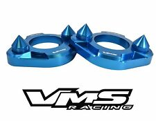 x2 BLUE VMS RACING SPIKED STRUT TOWER SUPPORT BRACES FOR 94-01 ACURA INTEGRA DC2
