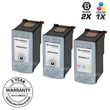 3pk PG-40 & CL-41 Ink Cartridge for Canon PIXMA MP160