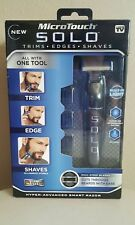 Micro Touch SOLO As Seen On TV Rechargeable Shaver Trimmer Hyper-Advanced Razor