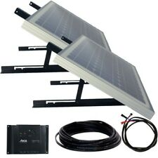 Solar Panel Kit 60W (2x30)12V mono, Steca regulator, cable set & mounting system