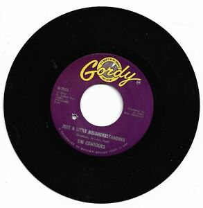 THE CONTOURS - JUST A LITTLE MISUNDERSTANDING - GORDY - EX CONDITION.