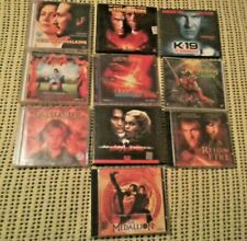 BULK LOT MOVIES VIDEO CD's 10 X VCD's VARIOUS MOVIE TITLES VIDEO CD's EXCELLENT