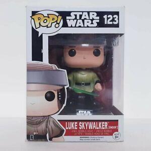Star Wars Luke Skywalker on Endor #123 Funko Pop Vinyl Free Post + Pop Protector