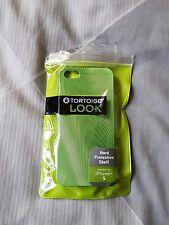 NUOVI Tartaruga iPhone 5/5s Custodia Pelle, Aderente, coperchio metallico verde