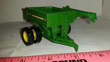 1/64 ERTL CUSTOM FARM TOY JOHN DEERE 500 BU GRAIN CART CORN WAGON row crop duals