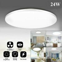 24W LED Ceiling Lights Surface Mount Panel Down Lamp Room Lighting White Bulb