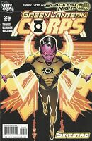 Green Lantern Corps Comic Issue 35 Featuring Sinestro Modern Age First Print DC