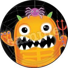 Halloween Tortenaufleger Party Deko Tortenbild Monster Kürbis Geist neu Kostüm