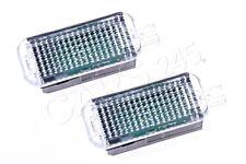 Genuine AUDI A1 A3 A4 A6 A8 Q5 Q7 SEAT Leon LED Footwell Light 2Pcs 4E0947415A