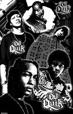 "DJ QUIK  11x17  ""Black Light"" Poster"