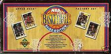 1991-92 Upper Deck 550-card Factory Sealed Basketball Hobby Set  Michael Jordan