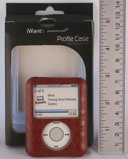Red Case Suitable for Apple 3G Ipod nano [ by Proporta ] QTY: 1