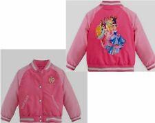 Disney 8 Princess Varsity Jacket child 7-8 M New Girl Ariel Belle Jassmin Aurora