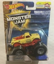 Hot Wheels Monster Jam CRUSHSTATION Truck 30th Anniversary 1st Ed 2012 Topps