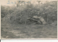 WWII 1944 US Army GI's Hollandia DEI NG Photo  wrecked Japanese truck
