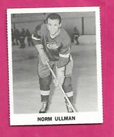 RARE 1965-66 COCA COLA WINGS NORM ULLMAN   CARD (INV# C5009)