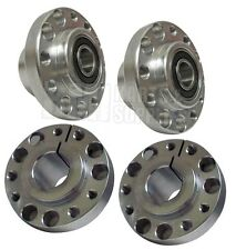 Set of 4 - Front &  Rear 1.25 Racing Wheel Hubs, VanK Split Rim Go Kart Fun Cart