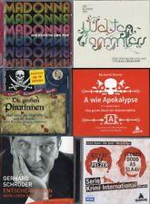 Hörbuchpaket -  6 Hörbücher auf 9 CDs - NEU + OVP