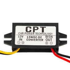 1PCS DC/DC Converter Regulator 12V to 5V 3A 15W Car Led Power CPT-UL-1 Hot