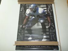 1a0035bb4 RARE & VINTAGE 2001 STARLINE CHARLES WOODSON DONT EVEN THINK ABOUT IT -  RAIDERS!