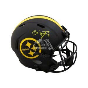 Ben Roethlisberger Autograph Steelers Eclipse Replica Full-Size Helmet Fanatics