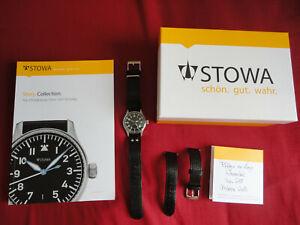 STOWA FLIEGER CLASSIC 36mm, AUTO ETA 2824-2, NO LOGO, WITH DATE.