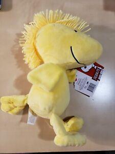 Kohls Cares Peanuts Woodstock Plush Stuffed Animal 12 inch, Yellow Bird Pal