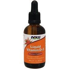Now Foods, líquido de vitamina D-3, 2 Fl Oz (60 Ml)