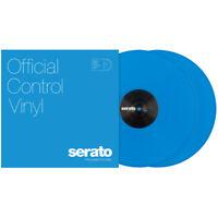 """Serato - 12"""" Neon Control Vinyl Neon Blue"""