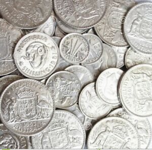 One Florins- One Shillings and more 1910-1936 Random Years Good conditions