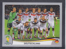 Panini-Brasil 2014 World Cup - # 489 Deutschland equipo Grupo-Platinum
