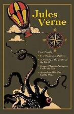 NEW Jules Verne Four Novels Leather Bound Classics UK STOCK