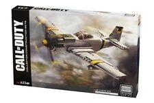 Call of Duty Legends Air Strike Ace Construction Airplane Mega Blok Set 623 Pcs