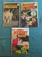 STRANGE TALES UNUSUAL 7 HOUSE OF MYSTERY 146 MYSTERY IN SPACE 50 1 LOT VG COMICS