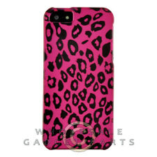 Apple iPhone 5/5S/i5S Shield Leopard Hot Pink Case Cover Shell Protector Shield