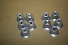 POTENTIOMETER KNOBS 1/4 IN HOLE WITH NO SET SCREWS (LOT OF 10PCS)