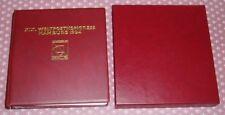 XIX. Weltpostkongress Hamburg 1984, ABO-Sammlung im entsprechenden Ringordner(1)