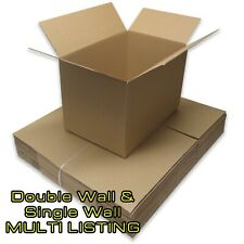 20 x LARGE Cardboard House Moving Boxes - Removal Packing box *FREE DELIVERY*
