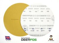 "300mm 12"" SANDING DISCS Quality DEERFOS Sandpaper Pads Hook and Loop Grit 40-180"