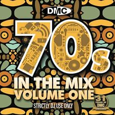 Dmc 70s in the mix dj music cd megamix continu disc seventies