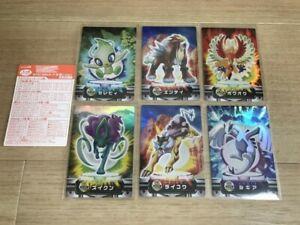 Pokemon Carddass Zukan Advanced Generation Holo Celebi Lugia Nintendo Game