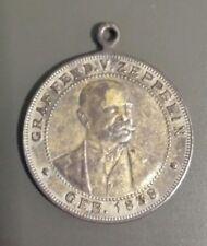 """Antike Medaille: Graf Ferd. v. Zeppelin, """"Glück ab! Gut Land!"""" (1908) (j1)"""
