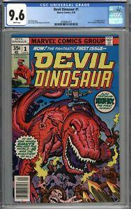 Devil Dinosaur #1 CGC 9.6 NM+ 1st Appearance of Devil Dinosaur & Moon-Boy WHITE