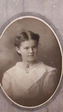 Victorian Photograph Of A Beautiful Young Girl Helen Stacy Canton, NY