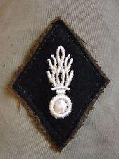 Ancien losange de bras modèle 1945 Gendarmerie Nationale insigne écusson patch