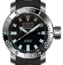 BARBOS STINGRAY AUTOMATIC WR 1650ft/500m  MENS DIVER WATCH.