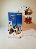 Lemax Kringle's Air Field 24484 Christmas village house display tested working