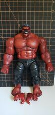 Marvel Legends Custom Painted & Sculpted Red Hulk (No Paint Rub, SHIPPED LOOSE)